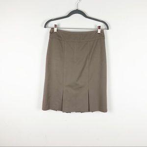 Nanette Lepore Tan Pencil Skirt
